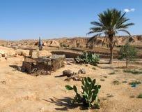 Deserto e montanhas foto de stock