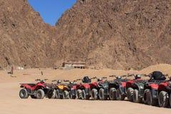 Deserto Egito de ATV Fotos de Stock Royalty Free