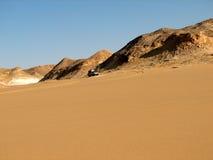 Deserto em Egipto Foto de Stock Royalty Free