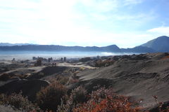 Deserto em Indonésia Fotografia de Stock Royalty Free