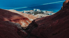 Deserto em Israel imagem de stock