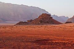 Deserto em Jordão Imagens de Stock