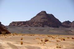 Deserto em Líbia Fotografia de Stock Royalty Free