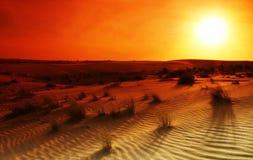 Deserto estremo Fotografia Stock