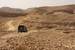Deserto fora da viagem por estrada Foto de Stock