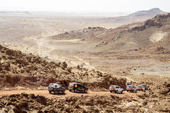 Deserto fora de estrada Foto de Stock Royalty Free