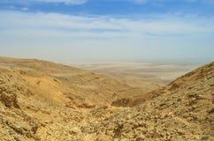 Colline del deserto Fotografie Stock Libere da Diritti