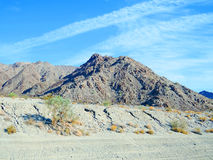Deserto irregolare Fotografia Stock