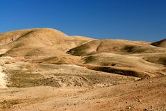 Deserto judaico Imagens de Stock