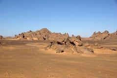 Deserto líbio Imagem de Stock