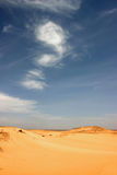 Deserto líbio. Imagem de Stock