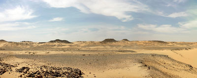 Deserto líbio. Imagem de Stock Royalty Free