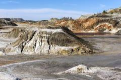 Deserto montanhoso paisagem colorida fotografia de stock