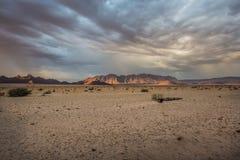 Deserto namibiano no por do sol imagens de stock royalty free