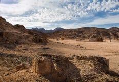 Deserto nell'Egitto Fotografia Stock Libera da Diritti