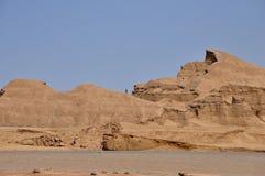 DESERTO NELL'IRAN Fotografie Stock