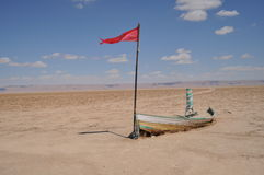 Deserto ou lago? Fotografia de Stock Royalty Free