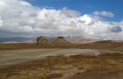 Deserto piacevole in autunno Immagini Stock Libere da Diritti