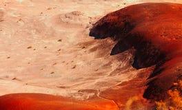 Deserto pintado imagem de stock