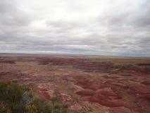 Deserto pintado Fotografia de Stock