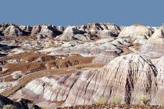 Deserto pintado imagens de stock
