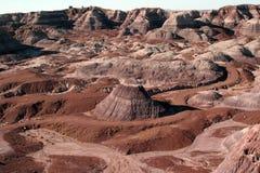 Deserto pintado Fotos de Stock Royalty Free