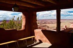 Deserto pintado do centro do visitante imagem de stock royalty free