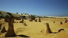 Deserto POV dos pináculos filme