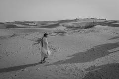 Deserto, Ragiastan, India Fotografia Stock Libera da Diritti