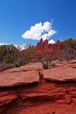 Deserto rosso Fotografia Stock