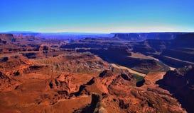 Deserto rosso, parco nazionale di Canyonlands, Utah, U.S.A. fotografia stock libera da diritti