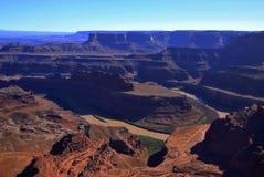 Deserto rosso, parco nazionale di Canyonlands, Utah, U.S.A. fotografia stock