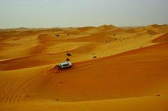 Deserto Safari Dubai Immagini Stock