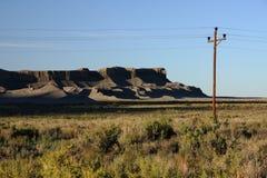 Deserto solo Fotografia Stock Libera da Diritti