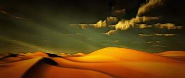 Deserto vívido fotos de stock