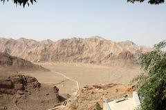 Deserto vazio em Irã central Fotografia de Stock