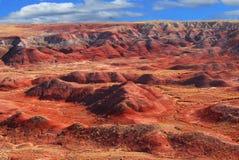 Deserto verniciato Fotografie Stock