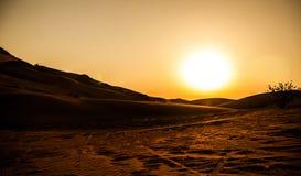 Deserts Dubai Royalty Free Stock Photos