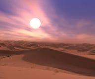 Deserts dune Royalty Free Stock Photos