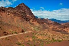 Deserts landscapes of Quebrada las cochas, North Argentina Stock Images