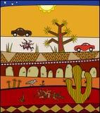 Desertscape Imagens de Stock Royalty Free