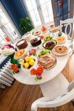 deseru stół Obraz Stock