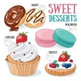 desery słodcy Fotografia Stock