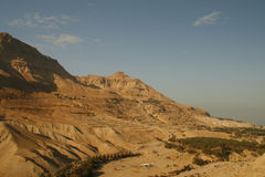 deset以色列山yehuda 免版税图库摄影