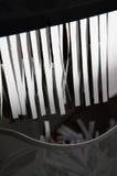 Desfibradora de papel imágenes de archivo libres de regalías