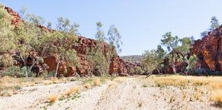 Desfiladeiro Austrália do rubi Foto de Stock Royalty Free