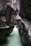 Desfiladeiro de Aare (Aareschlucht) perto de Meiringen, Suíça Foto de Stock