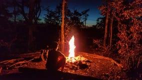 Desfiladeiro de acampamento de Red River fotos de stock