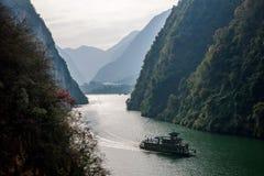 Desfiladeiro de Chongqing Wushan Daning River Small Three Gorges Imagens de Stock