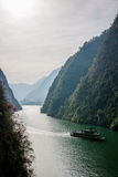 Desfiladeiro de Chongqing Wushan Daning River Small Three Gorges Fotografia de Stock Royalty Free
